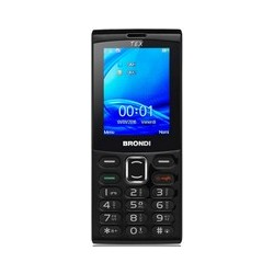 Senior Phone BRONDI TEX Dual Sim Black