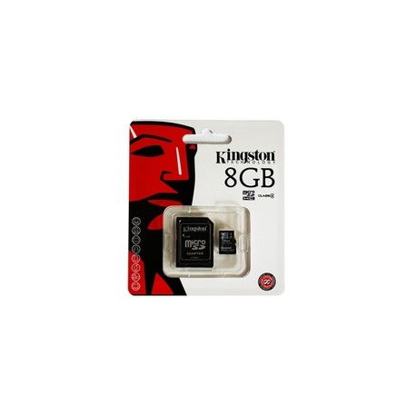 MicroSD Kingston 8GB class 4